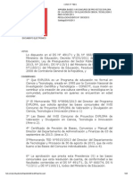 Bases XVIII Concurso de Proyectos EXPLORA Resolucion 5953-2013