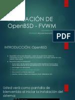 Instalación de Openbsd - Fvwm
