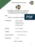 Informe Control Tecnico Vehicular