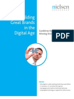 Digital Solutions for Brand Building Nielsen 0909