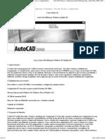 Apostila AutoCAD 2000 2D