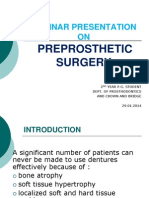pre Prosthetic surgery.ppt