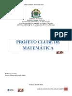 Projeto Clube de Matemática