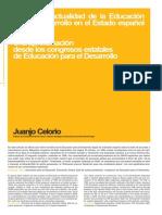 Génesis y Actualidad de La Educación Para El Desarrollo en El Estado Español