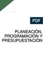 Planeacion y Programacion y Presupuestacion.