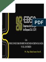 Psiconeuroinmunendocrinologxa y El Estres