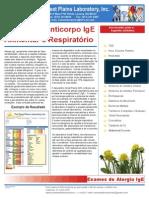 Paper GPL - Exames de Anticorpo IgE Alimentar e Respiratório