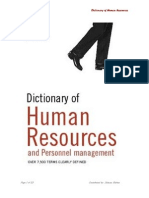 Hr Dictionary Final