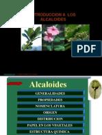 Clase No 16 Alcaloides