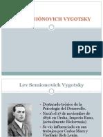 Biografía L. S. Vigotsky NEW