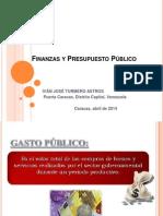 Finanzas y Presupuesto Público Presentación
