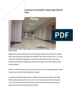 School Violence Hoaxes