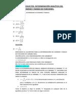 Ejercicios Resueltos Dominio y Rango de Funciones (1)