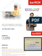 Excel in IT Net Working Course By Karrox