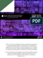 Encuesta UDP 2013 Primer Semestre