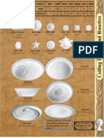 Permalife Ceiling Domes Rosettes