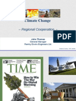 Climate Change- Green Asia - Regional Co-operation