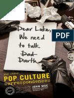 Dear Luke, We Need to Talk, Darth by John Moe - Excerpt