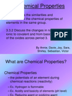 3.3 Chemical Properties