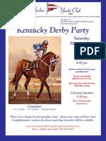 AHYC Kentucky Derby Party
