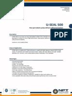 PDS-NPT(U-seal 500)