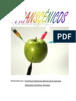 Francisco Espinosa y Alejandro Sanchez Trabajo 3º Evaluacion Alimentos Transgenicos