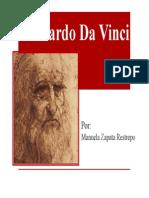 Unidad 4 Leonardo Da Vinci - Manuela Zapata Restrepo