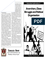 Agitprop 01 Anarchism, Class Struggle and Political Organisation
