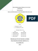 Cover Laporan Praktikum Isolasi Pengaman