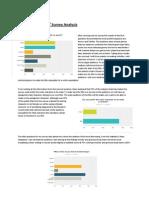target audience 1st survey analysis