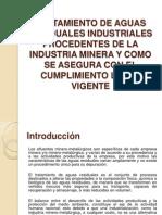 Tratamiento de Aguas Residuales Industriales Procedentes de La
