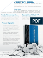 Ssd Vector Product Brief