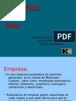 EMPRESA HAGA DIAPOSITIVAS