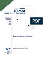 Bresser Pereira 2011 - Cinco modelos de capitalismo.pdf