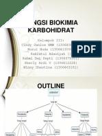 3. Fungsi Biokimia Karbohidrat