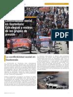 Conflictividad Social en Guatemala República Gt