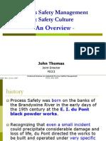 Process Safety Management & Safety Culture 22 Nov 2007