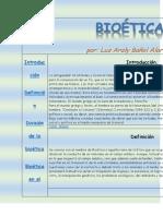 BIOÉTICA Revista Web