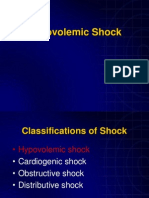 Hypovolemic Shock