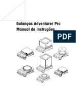 Manual Balança Adventure Pro