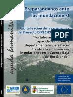 Informe de Capitalización Proyecto DIPECHO Río Grande. Castellano