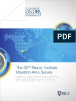 Kinder Institute Houston Area Survey