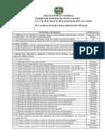 Anexo II - Tabela de Ttulao