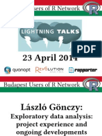 English R Lightning Talks @ BURN (2014-04-22)