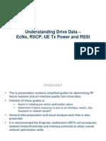 Module 3 DT-Drive Test Parameters