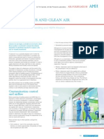 Cleanrooms and clean air