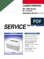 Samsung ML-1610 Printer Service Manual