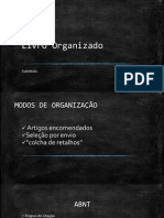 Livro Organizado