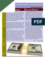 FCC Newsletter Nov 09