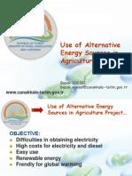 Çanakkale_ Ing-Alternatif Enerji Kaynaklarının Tarımda Kullanılması Projesi_Başak Egesel